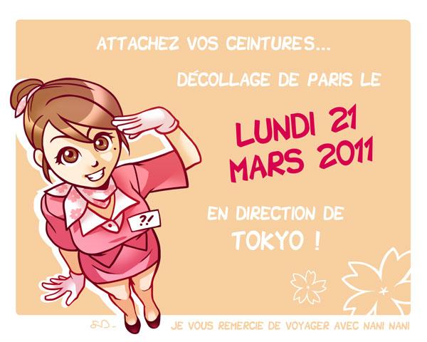 Décollage le 21 mars !