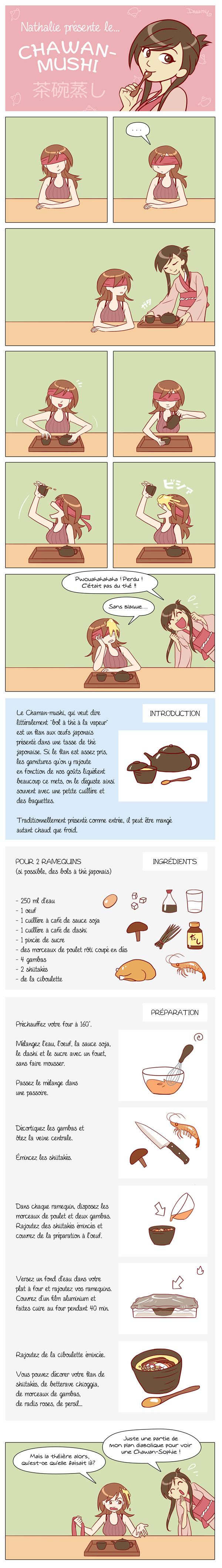 La recette du Chawanmushi !