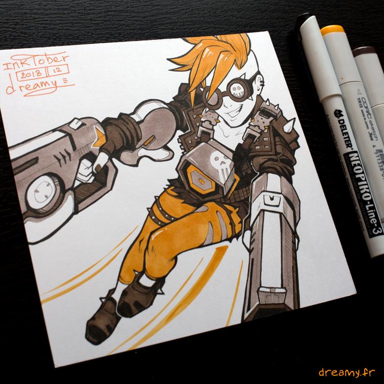 Inktober Overwatch