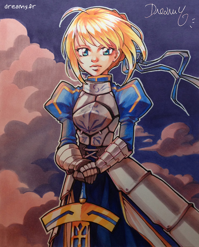 [A5] Fate Stay Night - Saber