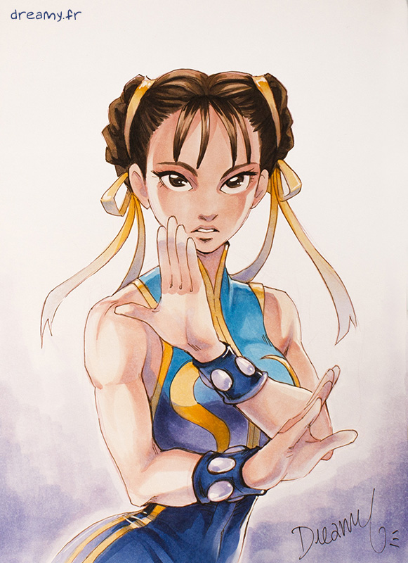 Street Fighter Alpha - Chun-li