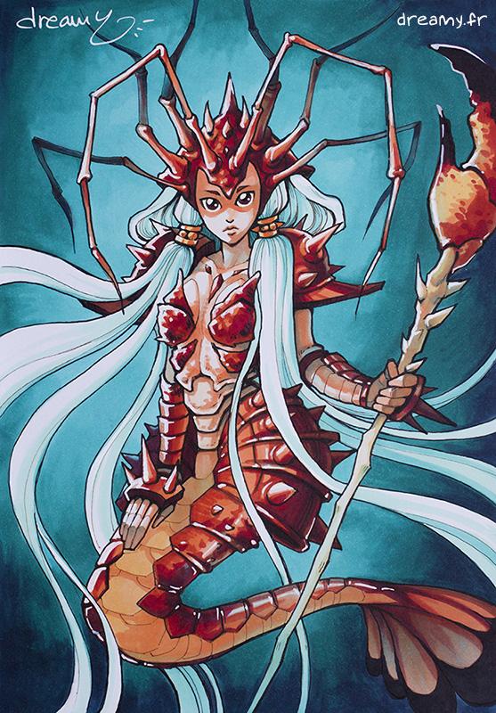 Sirène crabe