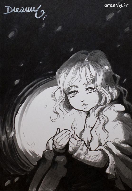 La petite Fille aux Allumettes [A6]