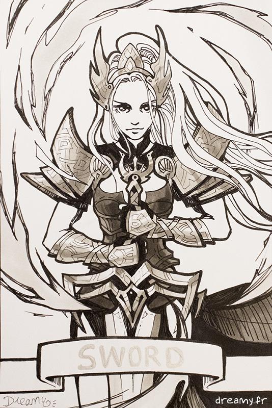 6) Sword