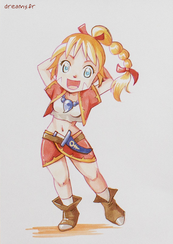 Kid chibi (Chrono Cross) : 10€ [A6]