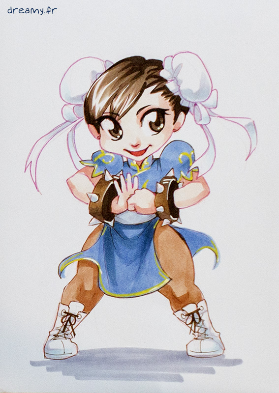 Street Fighter - Chun-li (chibi) : 15€